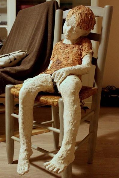 Jurga Martin - Bambino - scultura