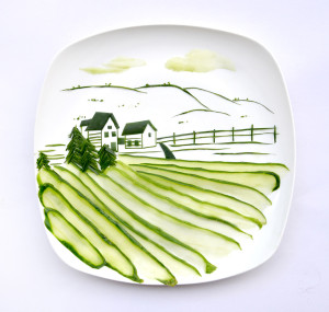 Red Hong Yi, serie 31 days of food creativity