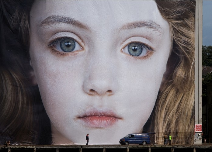 Helnwein - Installazione The Last Child - Wateford 2008