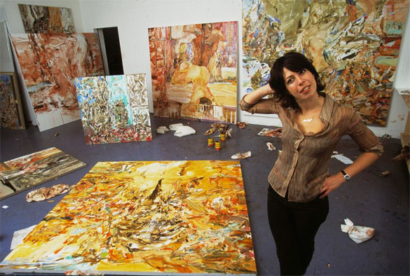 cecily-brown-artist-studio