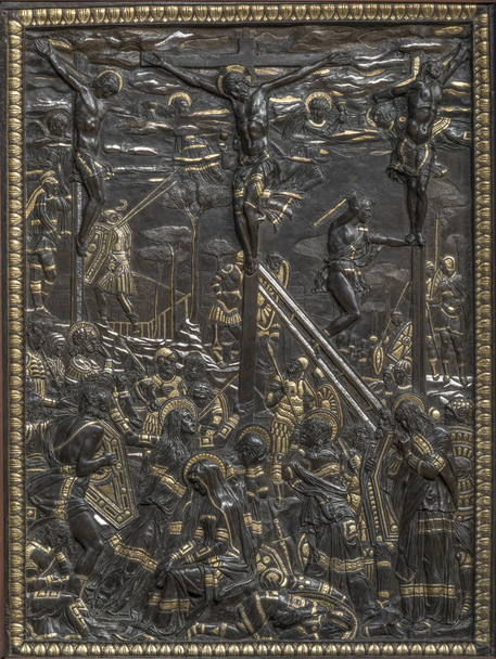 crocifissione donatello museo nazionale bargello firenze