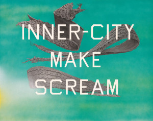 Ed Ruscha, Inner City Make Scream, 2014, acrilico su tela