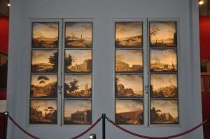 Galleria Palatina, Le 16 pergamene dipinte di Lieven Cruyl