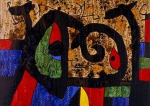 Joan Mirò, La lucertola dalle piume d'oro
