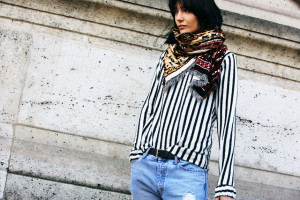 street style Paris Fashion Week 2014