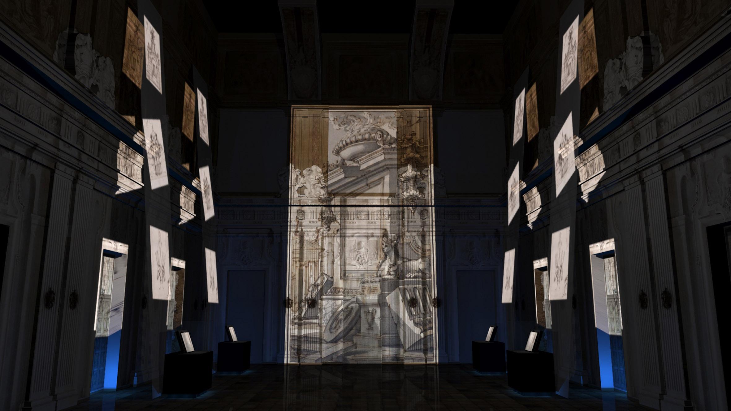 Filippo Juvarra, disegno, Mostra a Palazzo Madama, Torino
