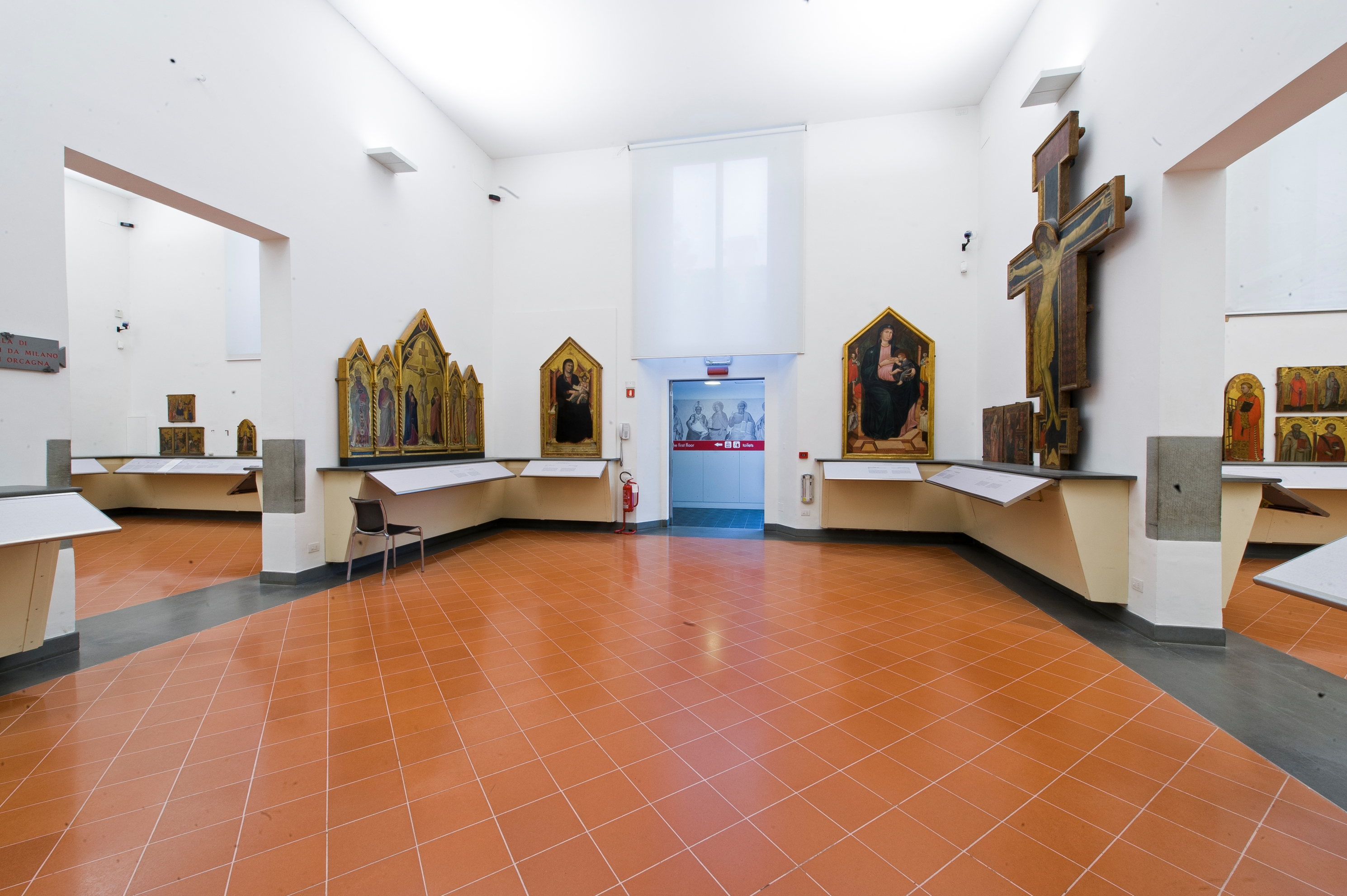 Galleria dell'Accademia, Sala del 200-300, Firenze