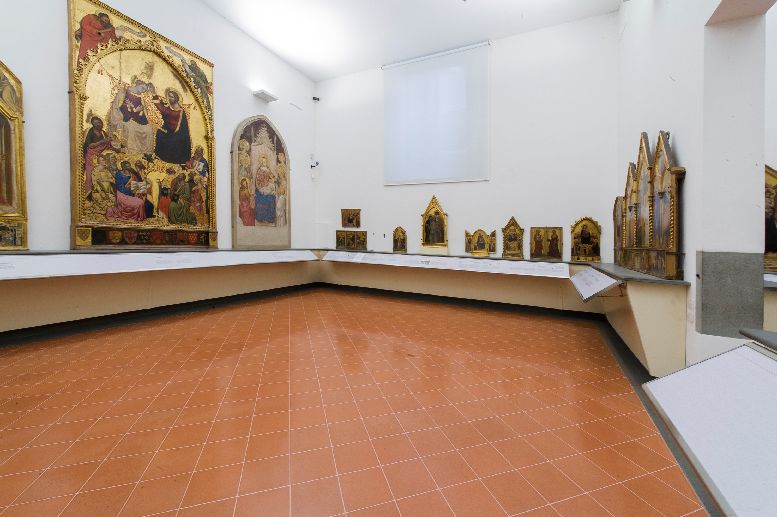 Galleria dell'Accademia,Sala Orcagna e G. da Milano, Firenze