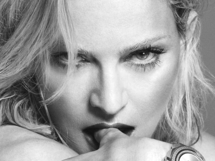 Madonna testimonial Versace 2014/15