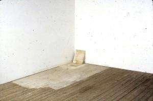 Lawrence Carroll Untitled, 1990 olio, cera e tela su legno