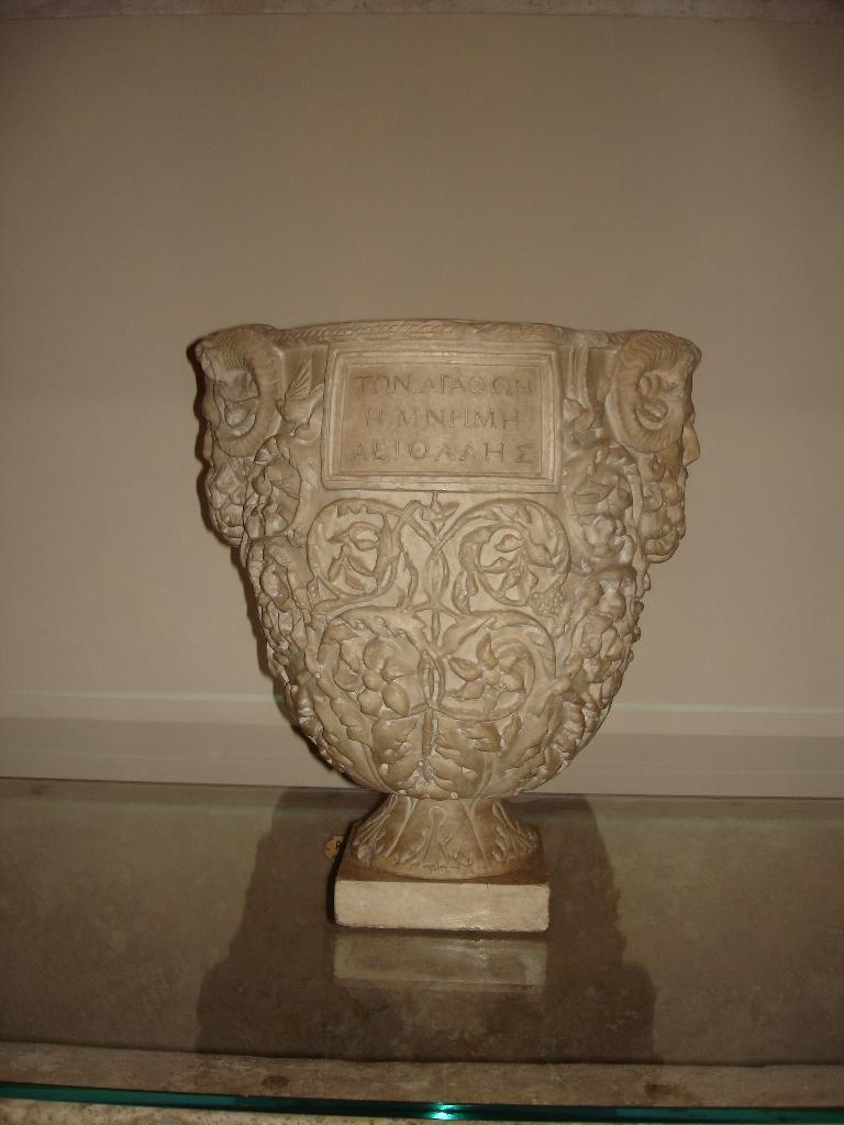 Uffizi, Sala 38 - Urna funeraria