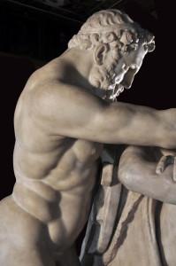 Giovanni Caccini, Ercole e Nesso dopo il restauro, Galleria degli Uffizi