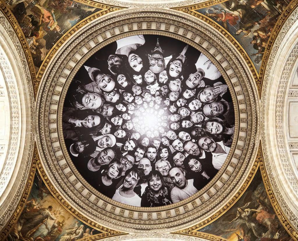 JR, Inside Out – Au Panthéon, Paris, 2014 (1)