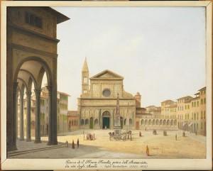 fabio borbottoni, piazza s. maria novella