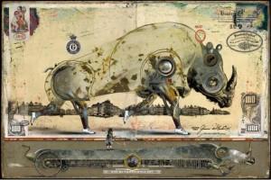 Bruno Mallart, rinoceronte