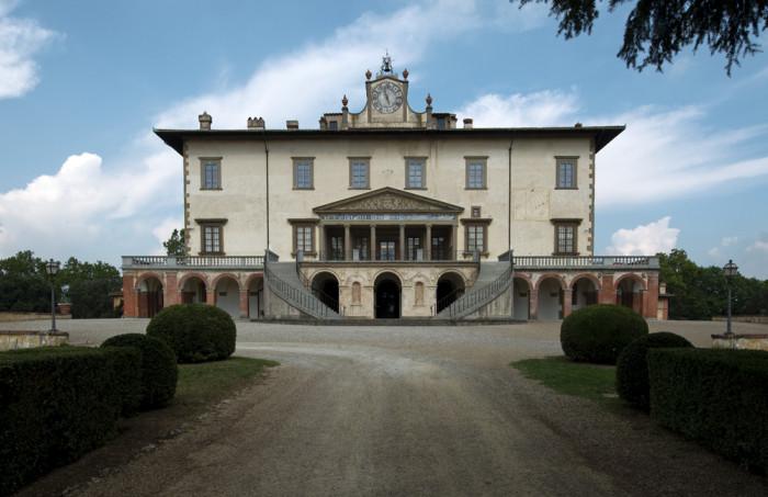 Villa medicea di Poggio a Caiano.