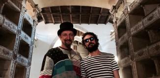 Fabrizio Pocci e Erriquez della Bandabardò