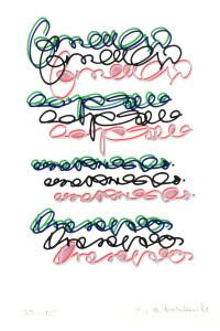 Marcello Diotallevi, Lettere mittente mail art villa carlotta