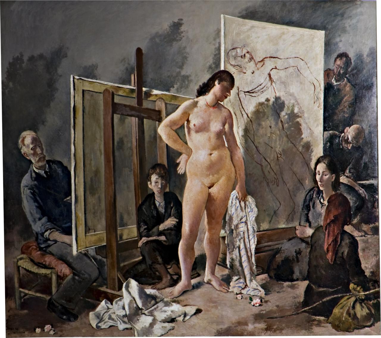 Carena, Galleria d'Arte Moderna Pitti Firenze