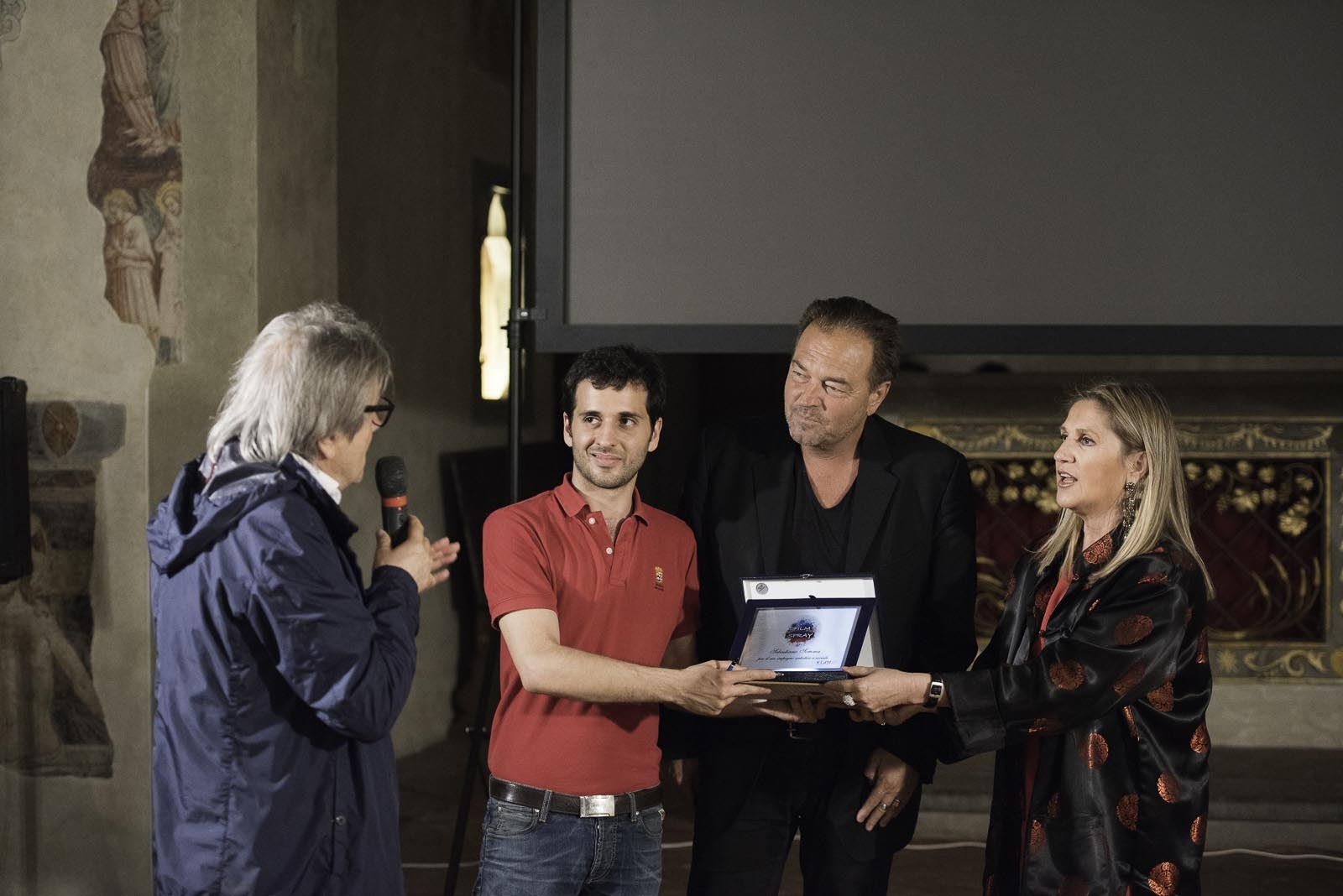 Film SPray Festival 2015, Sebastiano Somma