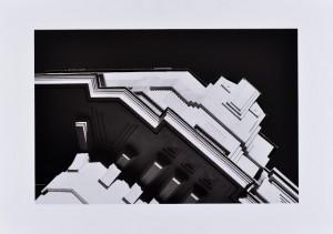 """Antonio Salvador (Courtesy: Galleria Blanchaert) Architettura #7, 2009 Fotografia, stampa """"fine art"""" su carta 100% cotone, cm 50x70 tiratura 1/5"""