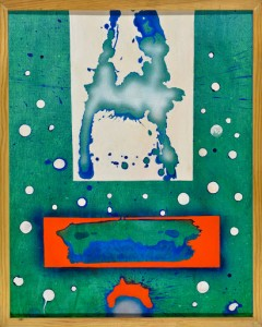 Renzo Margonari La neve del prossimo inverno, 1992 Tecnica mista su cartone telato, cm 49x39