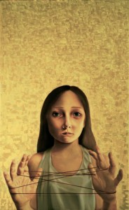 Caterina Voltolini (Courtesy: Galleria Blanchaert) Déja vu, 2008 Olio su tela, cm 80X50