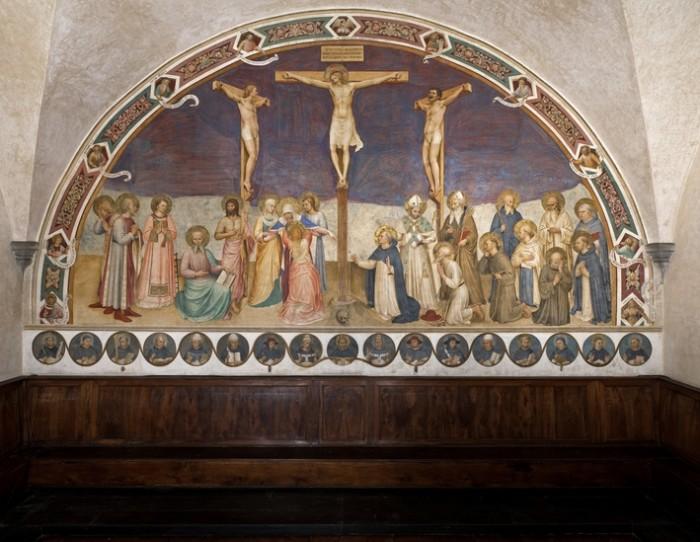 Beato Angelico, Crocifissione - dopo il restauro odierno