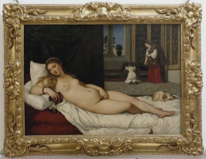 Tiziano-Venere Urbino arte pittura marche