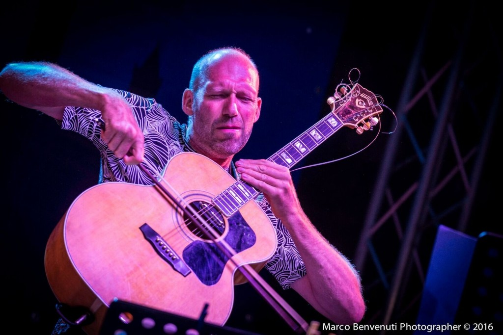 Serravalle jazz 2016 Hasse Poulsen_FrizioneSextet 29_08 Foto Marco Benvenuti