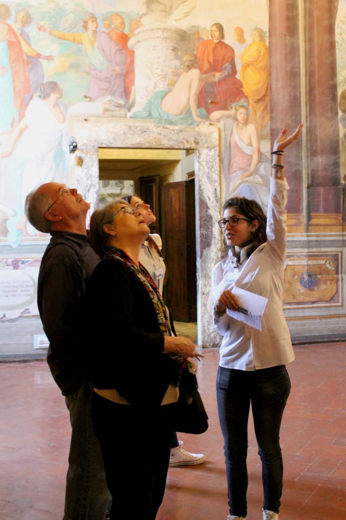 ambasciatori dell'arte Crediti ph Giulia Comparini Ist Leonardo da Vinci firenze musei turisti arte