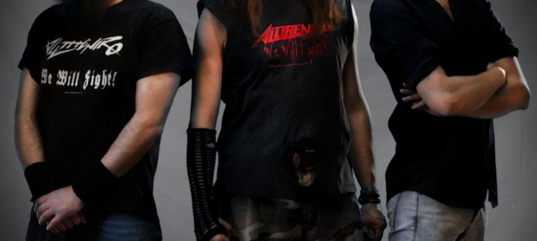 ALLTHENIKO heavy metal trash power spped germania italia album