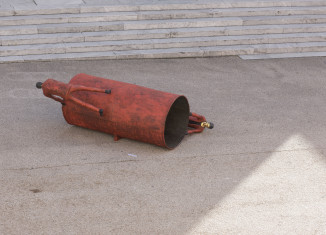 R.Barni,Sadovasomaso, 2007, bronzo, cm 126x240x274