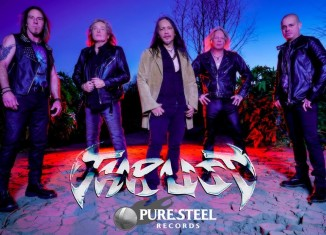 "thrust metal bandvideo per la canzone "" Sorceress"",tratta dall'album di prossima uscita ""Harvest Of Souls"" (PURE STEEL RECORDS)"