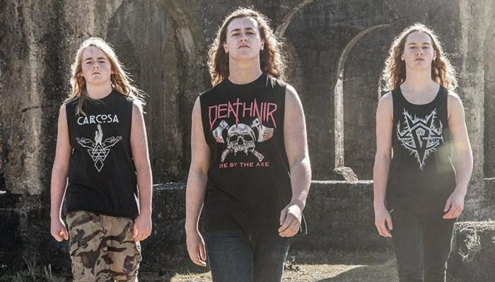 Alien Weaponry trash metal nuova zelanda album 2018 maori dio della guerra