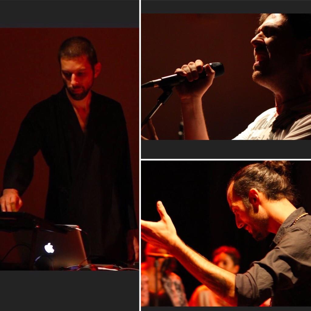 electro circle song musica voce improvvisazione firenze