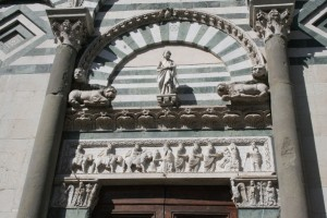 S. Andrea - Architrave (Pistoia)