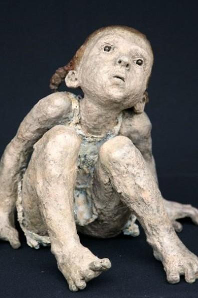 Jurga Martin - bambina - scultura