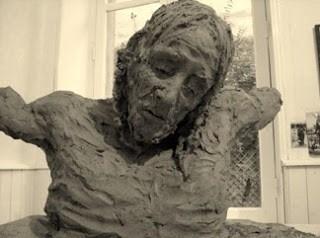 Jurga Martin - Crocefissione - scultura