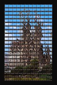 Thomas Kellner, Barcelona, La Sagrada Familia, 2003, 45,5 x 73,2 cm