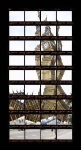 Thomas Kellner, London, Big Ben, 1999, 15,3 x 31,4 cm