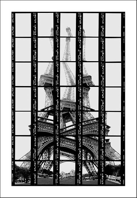 Thomas Kellner, Paris, Tour Eiffel, 1997, 17,5 x 27,0 cm.jpg