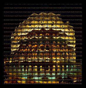 Thomas Kellner, Rom, Colosseum at night, 2005, 68,2 x 69,7 cm