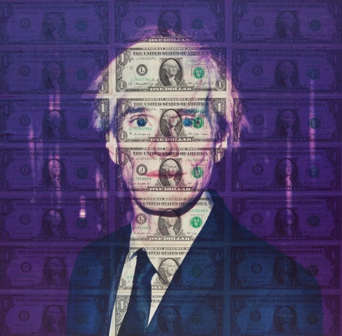 Giuseppe Lo Schiavo,Art Currency, Andy Warhol