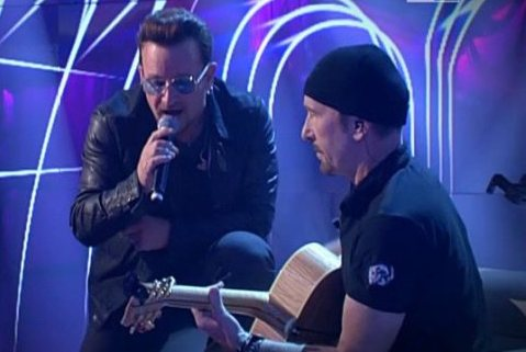 Bono e The Edge Rai 3