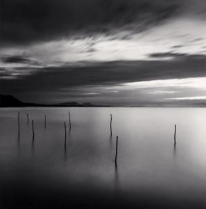 Michael Kenna, Sticks in Water, Shinji Lake, Honsu, Japan, 2001