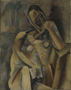 Woman with a Book_Picasso