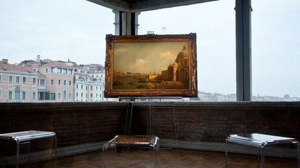 canaletto dipinto esposto al museo del duomo di milano