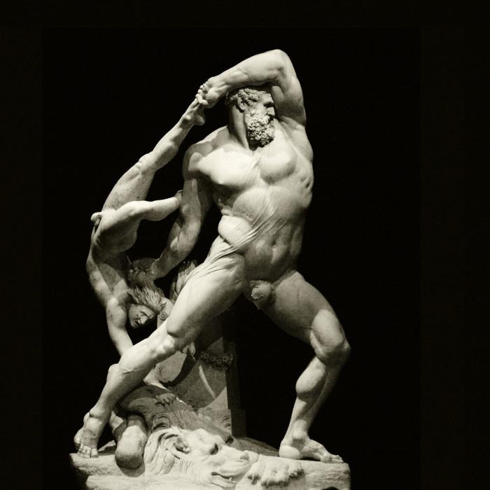 Antonio Canova, Ercole e Lica, marmo, 1795-1815, Galleria Nazionale d'Arte Moderna, Roma