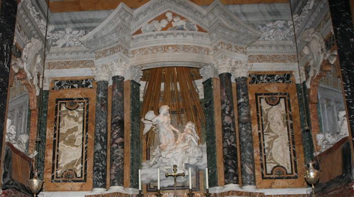 Bernini, Cappella Cornaro,Santa_Maria della Vittoria, Roma